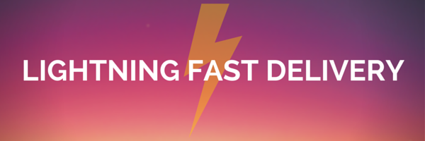 Lightning Fast Delivery for Vinyl Wall Decals