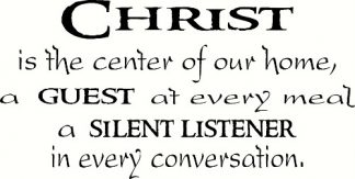 Christ is the Center ~ Christian Inspirational Quotes