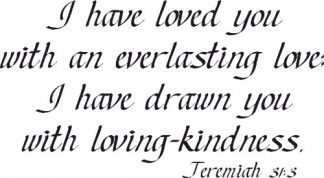 Jeremiah Bible Verse Wall Art
