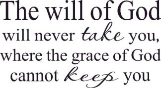 The Will of God ~ Scripture Wall Art Decals