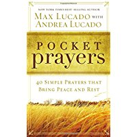 Pocket Prayers Book by Max Lucado
