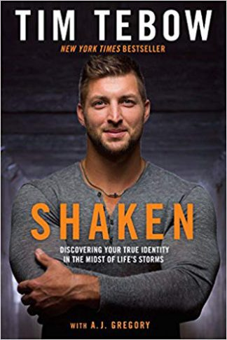 Shaken by Tim Tebow Book