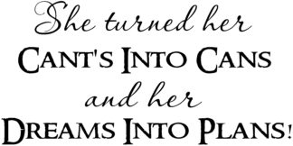 she turned vinyl wall quotes wall stickers